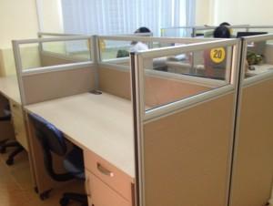 Cho thuê bàn làm việc và văn phòng làm việc