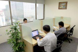 Cho thuê: Văn phòng ảo, chỗ ngồi làm việc, diện tích văn phòng